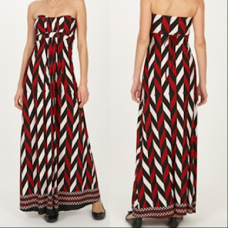 Wanted List:  Tesco's Stella Morgan Bandeau Maxi Dress