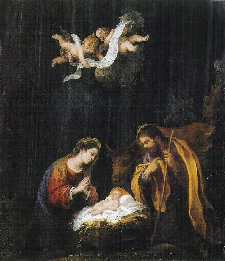 """La Natividad"" Murillo. (The Museum of Fine Arts, Houston)"