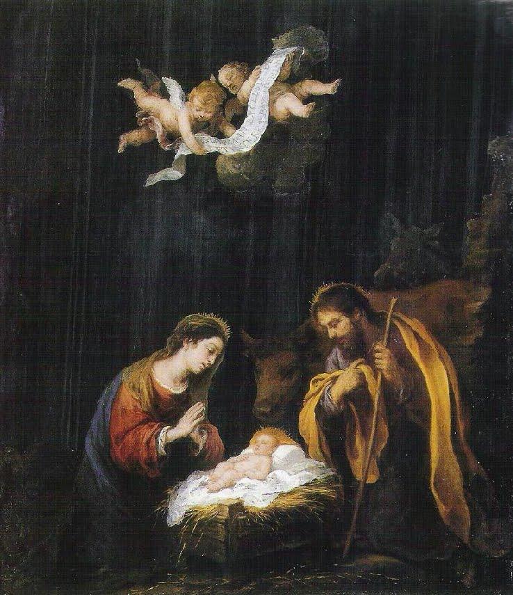 """La Natividad"" Murillo. (The Museum of Fine Arts, Houston)"