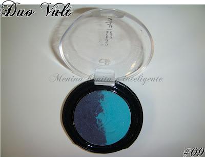 Maquiagem azul