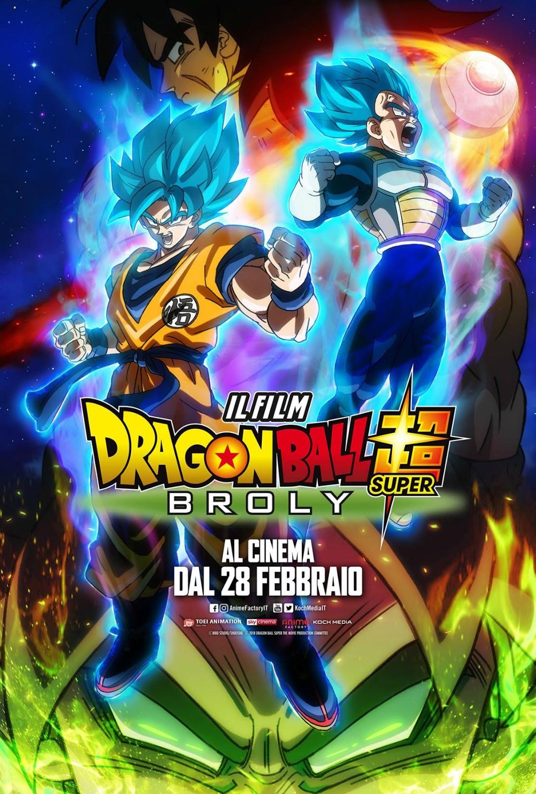 Raffaele Palazzo Dragon Ball Super Broly