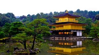 Destinasi Wisata Paling Indah di Jepang kinkaku ji