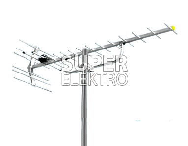 Antena TV Digital Model Yagi