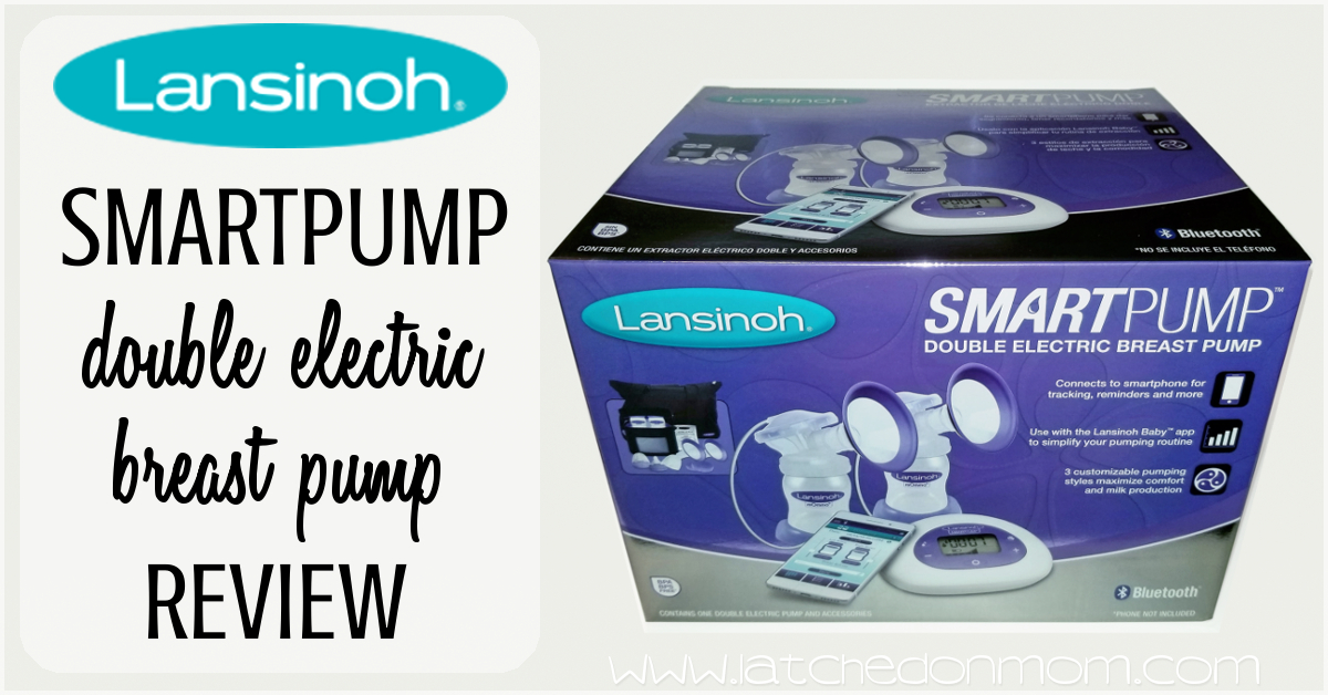 Latched On Mom Lansinoh Smartpump Double Electric Breast Pump