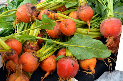 Produce at the Green Market in Piedmont Park