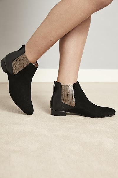 Boots cuir daim Anonymous