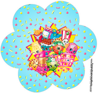 Shopkins Free Printable Wrappers And Toppers For Cupcakes