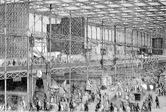 The 1851 Crystal Palace interior levels