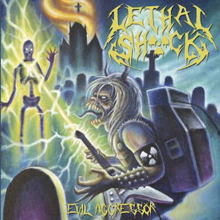 """Ακούστε ολόκληρο τον δίσκο των Lethal Shöck """"Evil Aggressor"""" που κυκλοφόρησε τον Ιούλιο"""