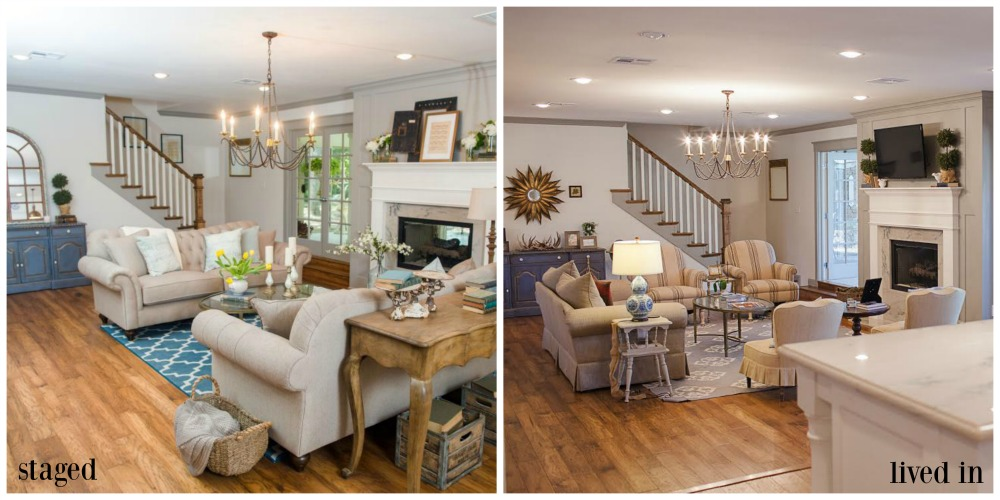 fixer upper before and after living room inside a fixer client s home after the show 566