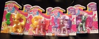 MLP Wave 3 Pearlized Brushables