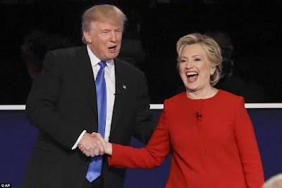 Trump - Clinton 2016 presidential debate