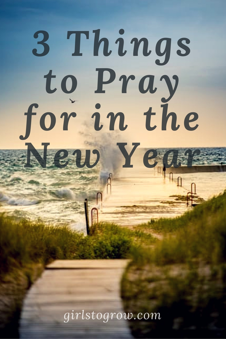 3 Things To Pray for in the New Year - Girls To Grow