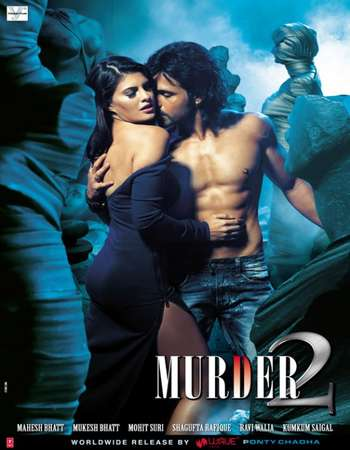 Poster Of Murder 2 2011 Hindi 400MB BRRip 720p ESubs HEVC Watch Online Free Download Worldfree4u