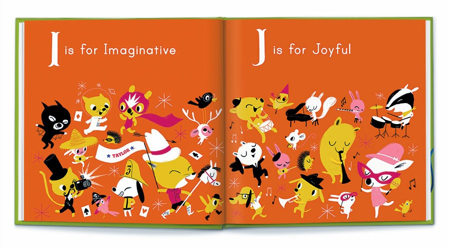 M is for Me -- Fun and Colorful Personalized Alphabet Book