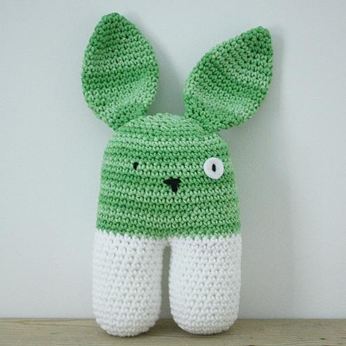 Amigurumi bunny, big | Happy in Red