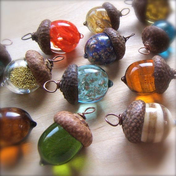 Painting Acorns For Crafts