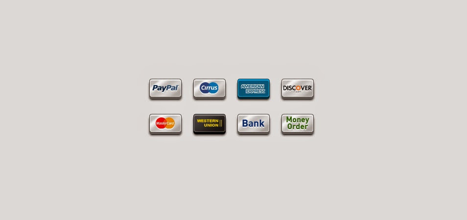8 Popular Payment Icons (PNG)