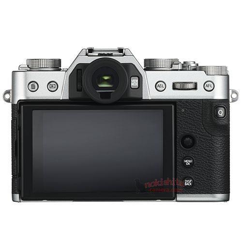 Fujifilm X-T30, вид сзади