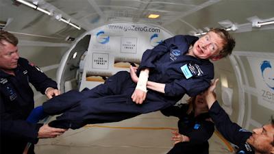 Ilmuwan Lumpuh Stephen Hawking Kembali Akan Melakukan Perjalanan Ruang Angkasa Bersama Virgin Galactic