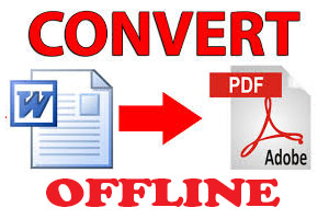 pdf to word free offline