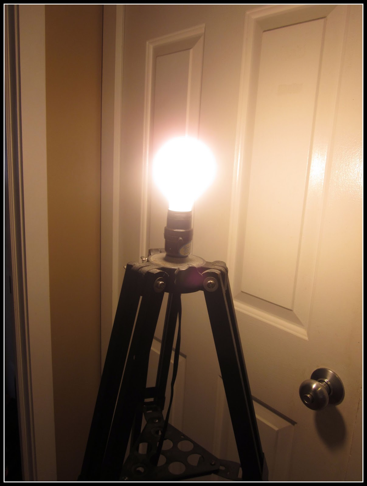 How To Build A Floor Lamp How To Make A Tripod Floor Lamp Homeroad