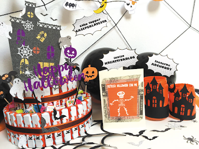 lavoretti creativi per party di Halloween last minute