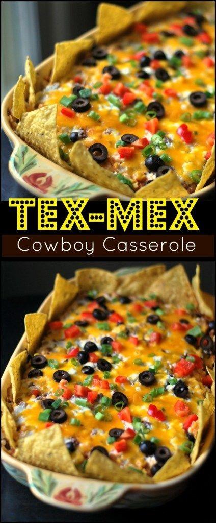 Tex-Mex {Cowboy} Casserole