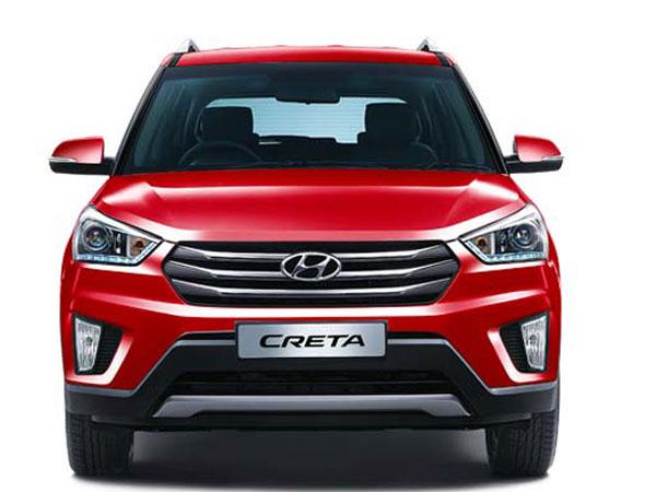 2017 Hyundai Creta Facelift Front angle view