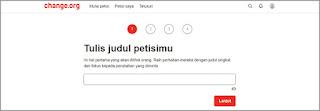 judul petisi