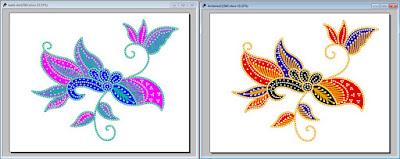 anseries design teknik batik