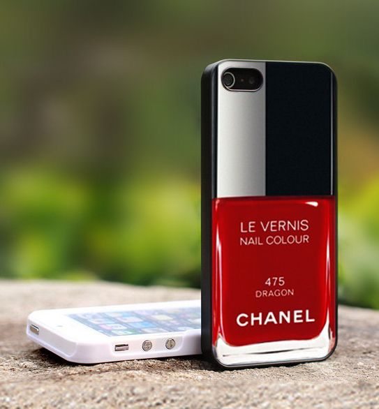 Chanel capa de telemovel - iphone case