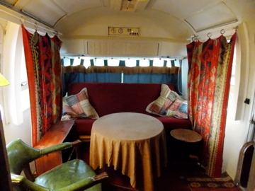Girl Camping From Empty Airstream To Cozy Cabin On A Dime