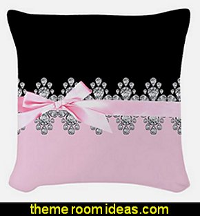 Diamond Delilah Woven Throw Pillow