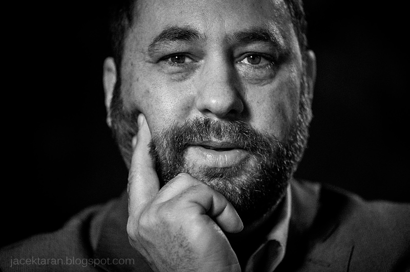 profesor Jan Hartman, filozof, polityk, portret fot. jacek taran