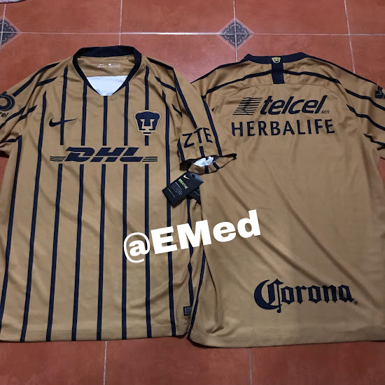 385ef6e0c5d Pumas UNAM 18-19 Away Kit Revealed - Footy Headlines