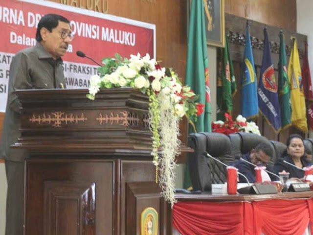 Zeth Sahuburua Minta DPRD Maluku Dukung Pemprov