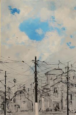 Poste vertical, de Clameli (foto de Ana Colla)