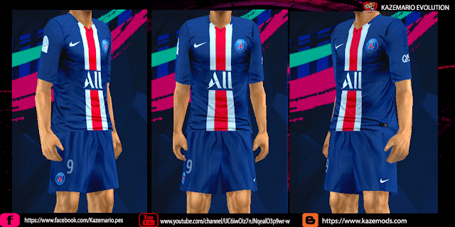 new arrival 67f60 45705 PSG Home Kit Leaked 2019/20 For PES PPSSPP