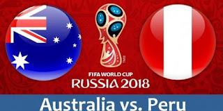 انتهت مباراه استراليا والبيرو اليوم 26-6-2018 بنتيجه 0 - 2 لصالح البيرو