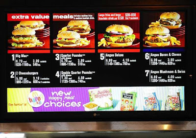 Fast food nutrition labeling 'confusing, ineffective'