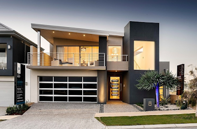 Kumpulan Bentuk Fasad Rumah Minimalis Terbaru 2016 - 015