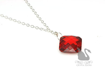 Winterberry Sparkle CZ Pendant Necklace (NC100)