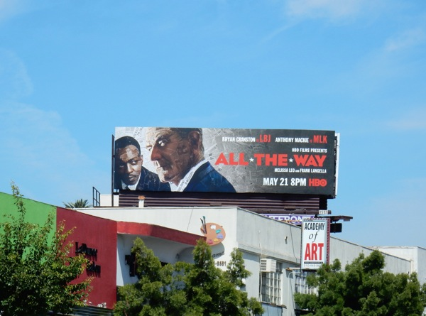 All The Way HBO movie billboard