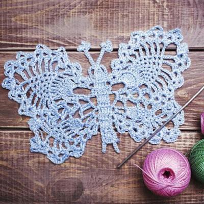 レース糸とレース針の太さの関係, Thickness of lace yarn and lace needle, 蕾丝线和钩针的粗细关系