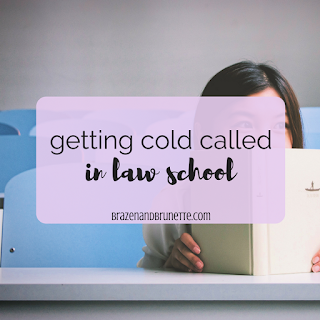 What to expect for a law school Socratic Method, what is the Socratic Method, what is a cold call in law school, law school cold call tips/ law school Socratic method tips | brazenandbrunette.com