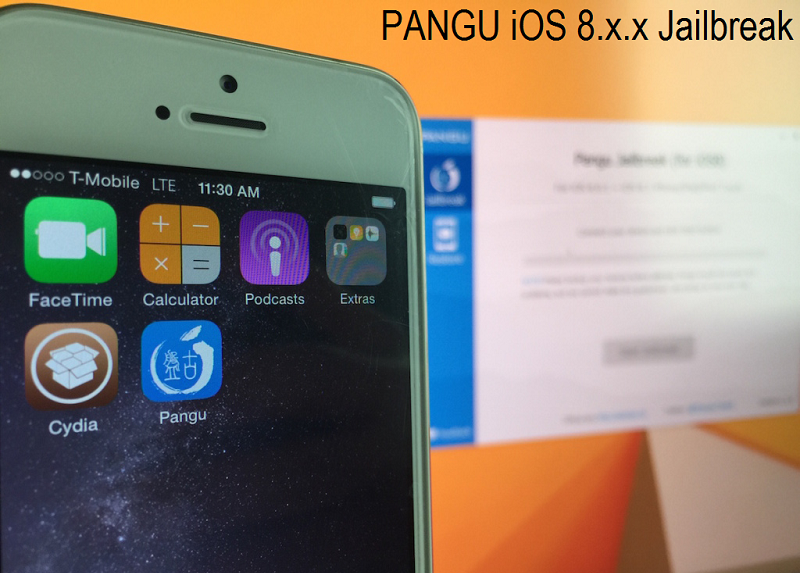 Untethered Pangu iOS 8.1, iOS 8.0.x Jailbreak for iPhone, iPad & iPod Touch - Tutorial