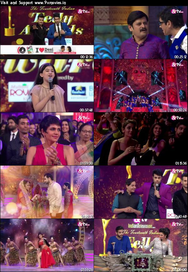 Indian Telly Awards 2015 Hindi 360p WEB SDRip
