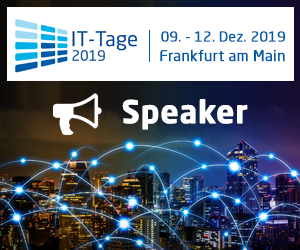 Speaking at IT Tage 2019