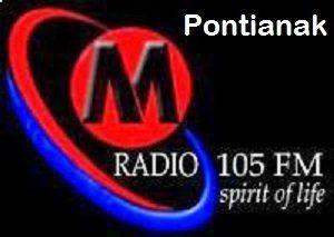 Streaming M Radio 105 FM Pontianak